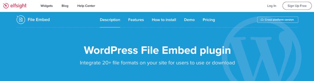 Elfsight File Embed
