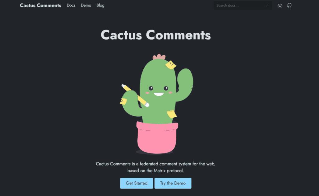 Cactus Comments